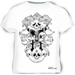 Camiseta Zart skulls & diamonds
