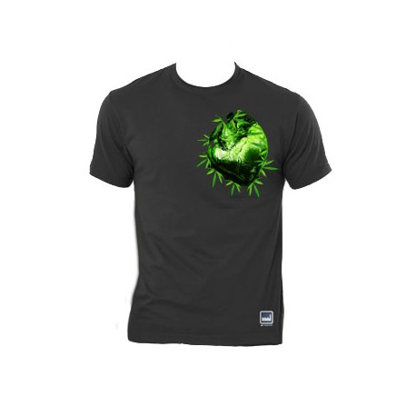 Camiseta Green Heart Attitude