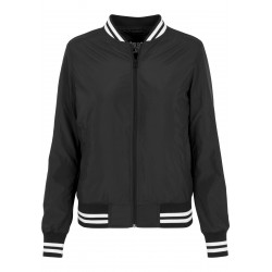 Nylon College Jacket