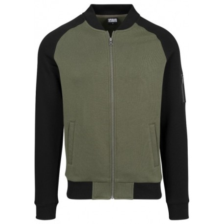 Raglan Sweat Bomber