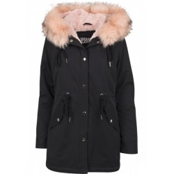 Peached Teddy Lined Parka